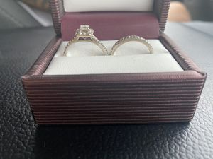 Diamond ring and wedding band for Sale in El Monte, CA