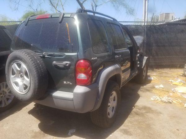 2002 jeep liberty 4x4 parts