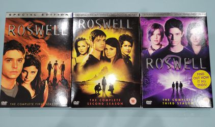 Roswell Complete Season One, Two and Three for Sale in El Paso,  TX