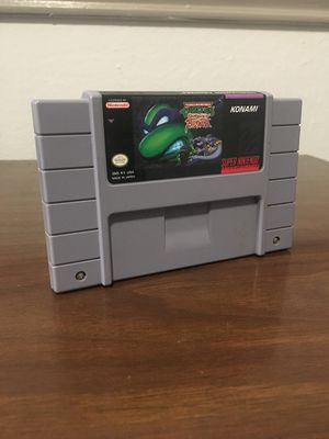 Tmnt tournament(Super Nintendo) for Sale in Lewisville, TX