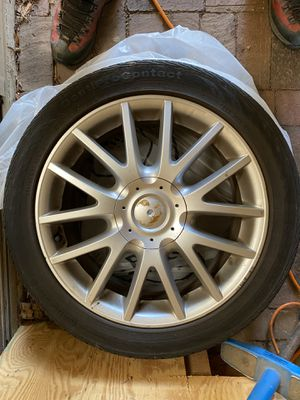 2006 VW GTI rims with tires for Sale in Silver Spring, MD