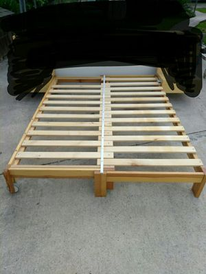 Ikea bed frame LOOK AT ALL PICTURES ((READ)) for Sale in Houston, TX