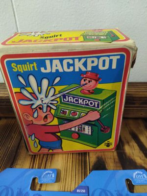 1960s jackpot squirt toy in box! for Sale in Gallatin, TN