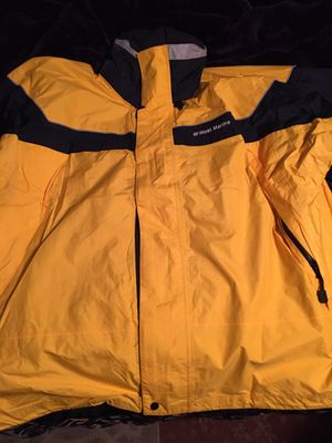 West marine jacket 2Xl for Sale in Pasco, WA