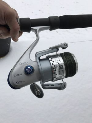 Custom tuna spin rod with Quantum reel for Sale in Bridgeport, CT