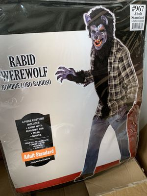 Rabid Werewolf Adult Halloween Costume for Sale in Austell, GA