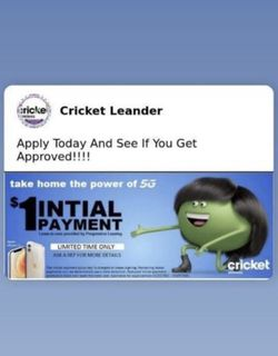 Crickets Making It Easier So You Can Get The Phone You Deserve!! for Sale in Toppenish,  WA