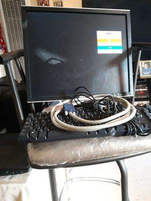 Dell computer monitor and keyboard and mouse for Sale in Laredo, TX