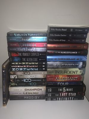 Books - The 100, Legend, The Hunger Games Series, Divergent Series ... etc for Sale in Garden Grove, CA