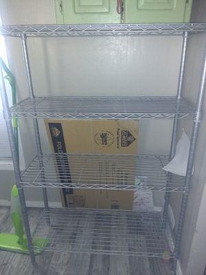 Metal shelves (2) 6ft&41/2ft for Sale in Glendale, AZ