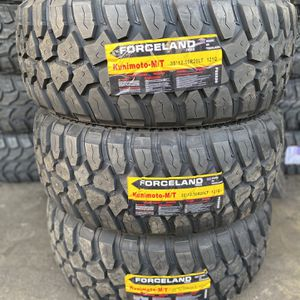 35/12.50R20 Forceland mt Tires (4 For $600) for Sale in Whittier, CA