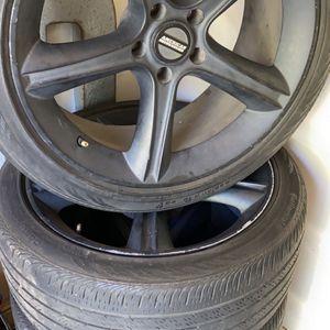 "19"" A E Wheels 5lug for Sale in Fresno, CA"