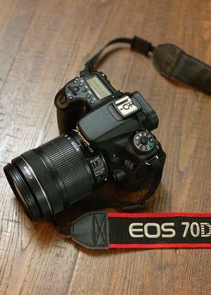Canon EOS 70D for Sale in Sacramento, CA