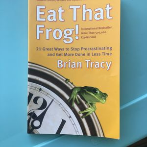Eat That Frog! Time management book for Sale in Highland, CA