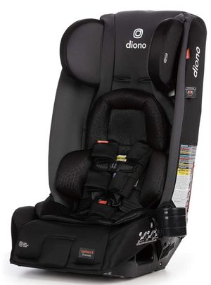 Diono 2020 Radian 3RXT, 4-in-1 Convertible, Extended Rear Facing, 10 Years 1 Car Seat, Fits 3 Across, Slim Fit Design, Gray Slate for Sale in Oakland Park, FL