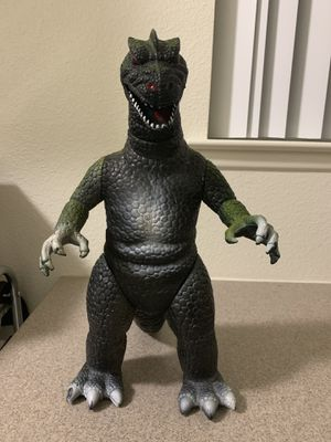 1980s Dor Mei Hong Kong Godzilla 14inch Collectible Action Figure for Sale in Twentynine Palms, CA