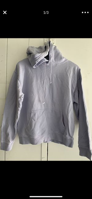NWOT baby blue hoodie with fitted bottom line and wrists cuff. for Sale in Los Angeles, CA