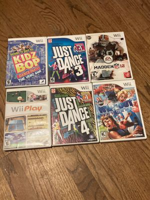 Wii games for Sale in Glendora, CA