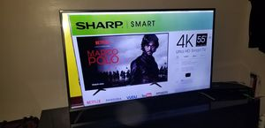 Sharp 55 Lc7000U .. With Box.. for Sale in Queens, NY