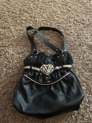 Kathy Van Zealand Black Leather Bag for Sale in Grand Island, NE
