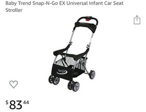 Baby Trend Snap N Go Universal Infant Car Seat Stroller for Sale in San Leandro, CA