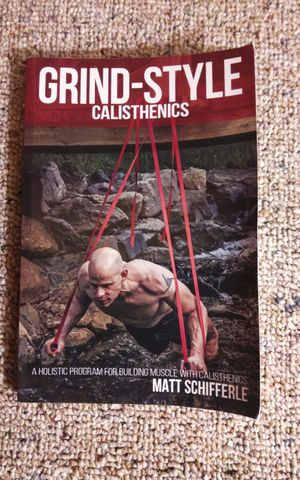 Grind Style Calistenics workout book for Sale in Monroeville, PA