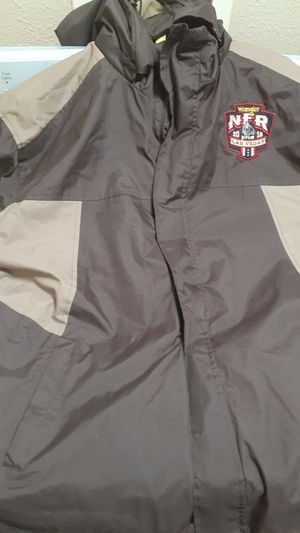 Nfr men's final jacket for Sale in Prairie View, TX