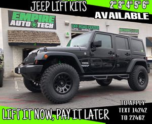 JEEP LIFT KIT PACKAGES. PAYMENT OPTIONS for Sale in Santa Ana, CA