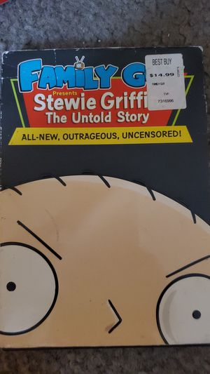 Family Guy Stewie Griffin The Untold Story for Sale in Los Angeles, CA