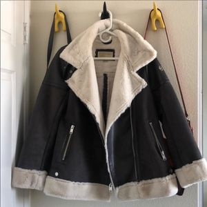 michael kors asymmetrical lined moto coat size S for Sale in Artesia, CA