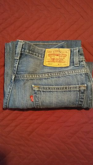LEVIS 514 Slim Straight Blue Jeans. for Sale in Bronx, NY