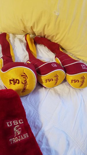 USC Head Covers 3 Pack plus 2 xtras for Sale in Fort Worth, TX