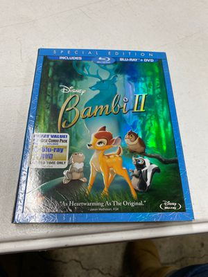 Bambi 2 special edition Blu-ray DVD for Sale in Huntington Beach, CA