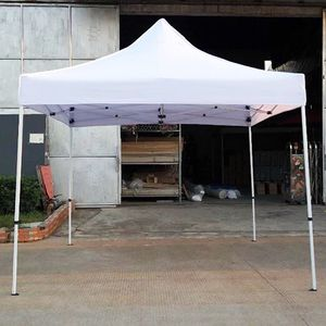 $100 (new in box) heavy-duty 10x10 ft popup canopy tent instant shade w/ carry bag rope stake, white color for Sale in Pico Rivera, CA