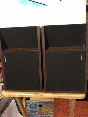 Vintage 1984 Bose 201 Series ll book shelf speakers left and right pick up only Hilliard area for Sale in Columbus, OH