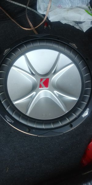 """12"""" SUBWOOFER KICKER 800W 400RMS 👉$50 FIRM NO BOX 👈 for Sale in Los Angeles, CA"""