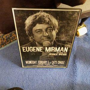 Comedy Poster Eugene Mirman Bobs Burgers for Sale in Virginia Beach, VA