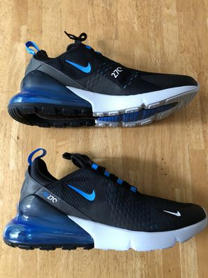 Brand new Nike air max 270 blue fury running shoes men's size 12 for Sale in El Cajon, CA
