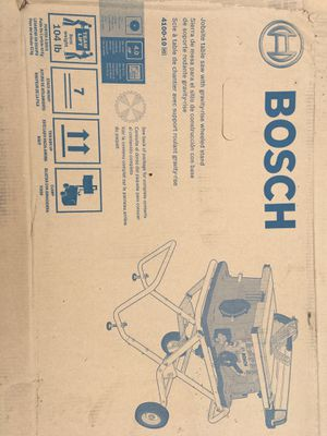 Bosch 4100 table saw for Sale in Roy, WA