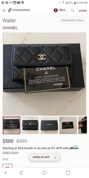Brand New Chanel ladies purse with certificate of authenticity. $400 OBO ** ONLY SERIOUS INQUIRIES for Sale in San Leandro, CA