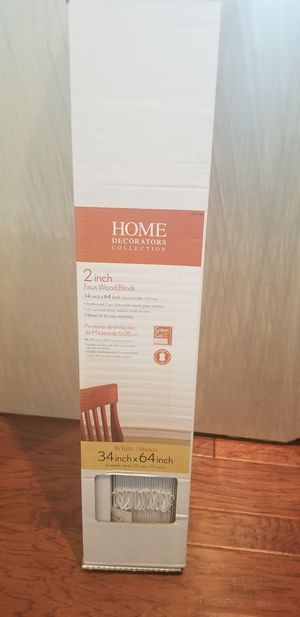 Home Decorator Wooden Blinds for Sale in Chester, VA