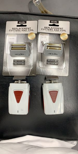 Andis shaver and shaver foil for Sale in Anaheim, CA