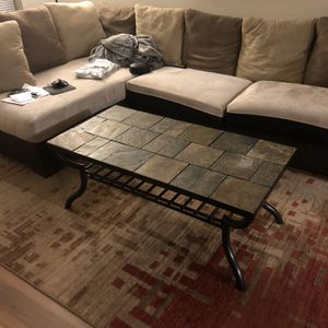 Stone Tile Coffee Table for Sale in Portland, OR