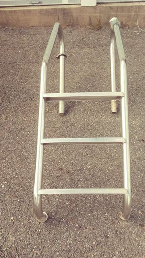 Inground pool stainless steel ladder for Sale in Raynham, MA