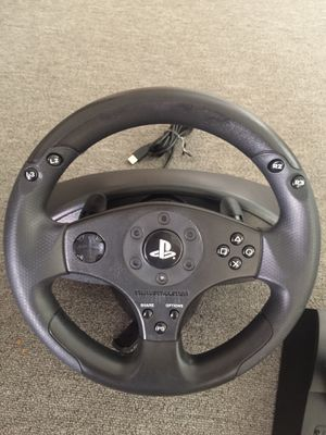 Racing wheel for PS3 and PS4 for Sale in Oakland, CA