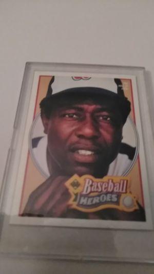 Baseball Heroes Upper Deck Card #26 *Hank Aaron for Sale in Shelton, CT