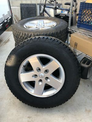 JEEP TIRES STOCK for Sale in West Covina, CA