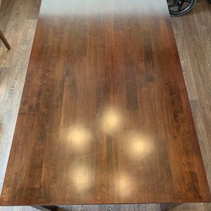 Wooden Dining Room Table & 4 Chairs for Sale in West Linn, OR