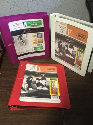 3 five star binders for Sale in Methuen, MA