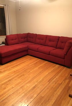 Sleeper sectional newly bought hardly used. for Sale in Chicago,  IL